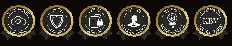 principa Praxissoftware Auszeichnungen