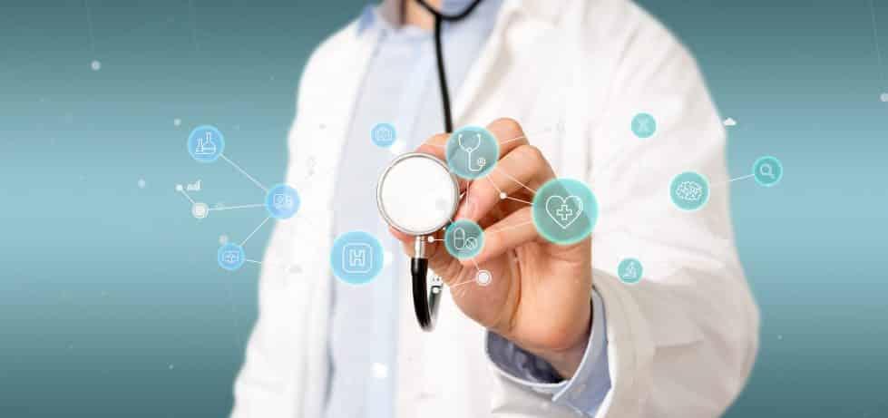 TI und KIM für eine sichere Kommunikation und Vernetzung im Gesundheitswesen.